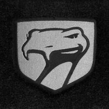 LLOYD Velourtex™ FLOOR MATS Silver Sneaky Pete Logos 1999-2002 Dodge Viper GTS