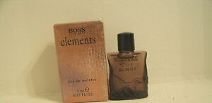 Hugo Boss ELEMENTS Eau De Toilette EDT Men Mini .17 oz New