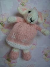 Bethany Easter Bunny (with babies and Egg bag) -  Soft Toy Knitting Pattern