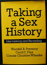 TAKING A SEX HISTORY, POMEROY, INTERVIEWING AND RECORDING