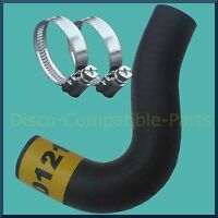 Land Rover Defender 300 TDi Radiator Bypass Hose + Stainless Steel Hose Clamps