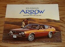 Original 1976 Plymouth Arrow Sales Brochure 76