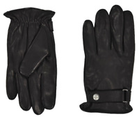 RALPH LAUREN POLO BLACK LEATHER (3M THINSULATE) GLOVES MENS SZ L & XXL NEW NWT