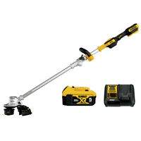 DEWALT DCST922P1 20V MAX Li-Ion 14 in. String Trimmer Kit (5 Ah) New