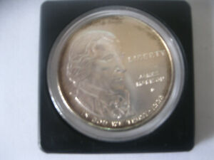 1993-D Bill of Rights, James Madison, 90% Commemorative U.S. Silver Dollar  #35