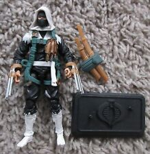 "G.I. JOE CUSTOM STORM SHADOW ROC POC 30TH 25TH ANNIVERSARY 3.75"" COBRA"