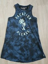 Abercrombie & Fitch Young Girl DRESS T shirt TANK Top NWT Sze 3 4 years Blue A&F