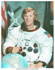 More details for rusty schweickart signed autograph photo coa aftal nasa apollo space astronaut