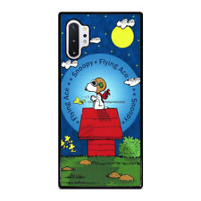 PEANUTS SNOOPY THE FLYING ACE Samsung Galaxy Note 5 8 9 10 Plus Case Cover
