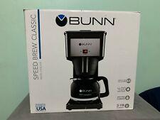 Bunn 10 Cup Speed Brew Drip Coffee Maker - Black