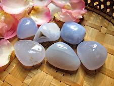 72-1 Calcédoine bleue-15 à 20grs-Blue lace agate-Joie-Bonheur
