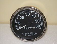 New Replacement Willys Jeeps Speedometer -1947 -55 Chrome bezel