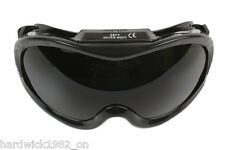 Wide Vision Welding Goggles - Anti Scratch Lens - Adjustable - En166 Standard