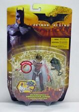 Batman Begins Scarecrow Red Paint Variant Mattel Nip 4+ 2005 5 inch S203-14