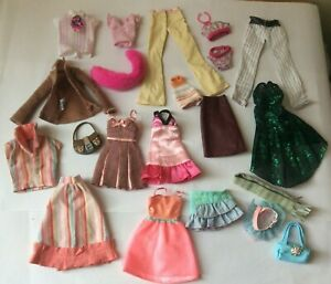 Bundle Lot of vintage Barbie Type dolls clothes items for fashion doll #1