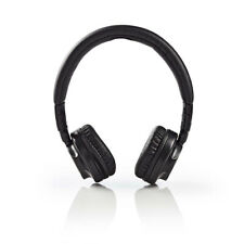 Black On Ear 104db Foldable Lightweight Headphones 1.2m Cable For Apple Android