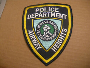 AIRWAY HEIGHTS WASHINGTON POLICE PATCH
