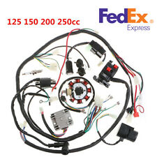 125-250CC Motorcycle Stator CDI Coil Electric Wiring Harness Wire Loom Assembly