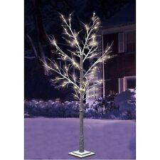 árbol de Luces invierno cubierto nieve 1 , 0M 48 Led ´S luz Ramas Guirnalda