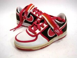 NIKE PRE-SCHOOLERS' 315420 261 VANDAL LOW LIGHT CHOCOLATE LEATHER SIZE 11 EUR 28