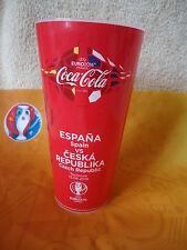 Coca Cola Fan Becher Spanien - Tschechien Match 8