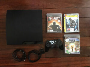 Sony PlayStation 3 PS3 Console + 3 Games Bundle 300GB