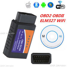ELM327 OBDII OBD2 Interface WiFi Car Diagnostic Scanner Auto Scan Tool Adapter