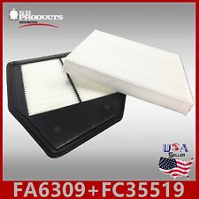 FA6309 FC35519 49040 24815 ENGINE & CABIN AIR FILTER COMBO ACCORD CROSSTOUR 2.4L