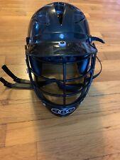 Cascade Plh 2000 Plus Junior Black Lacrosse Helmet + Face Mask + Chin Cup Strap