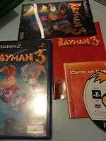Jeu Playstation 2 Ps2 pal fr rayman 3 complet avec carte holographique hologram