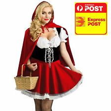 Little Red Riding Hood Storybook Fancy Dress Halloween Ladies Party
