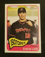 2014 Topps Heritage Minors, Albuquerque Isotopes - ZACH LEE