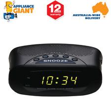 Lenoxx CR21 AM/FM Clock Radio - Black