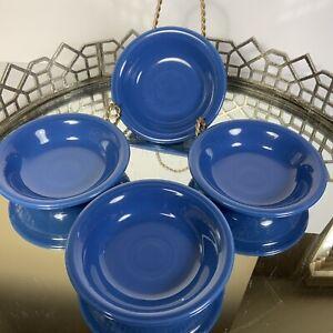 Fiesta® 6.25 oz Fruit Bowl Blue Lapis 1st Quality HLC Set of 4 #N1