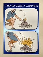Hallmark funny father's day greeting card how to start a campfire fart humor