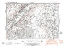 Ystalyfera, Crynant west, old map Glamorgan 1948: 9NW repro Wales