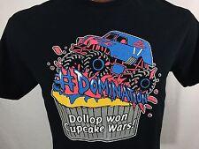 Cupcake Wars Dollop Gourmet Cupcake Creations Graphic T Shirt 100% Cotton M