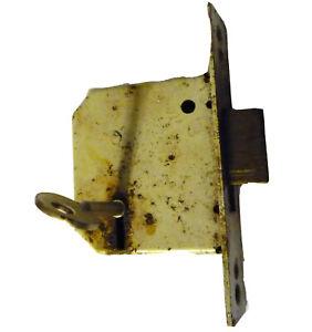 "Lock door Union vintage working with key 4 3/4 "" wide reclaimed steampunk good"