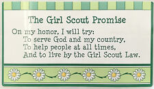 3 Girl Scout Promise Stickers #18029 Scouting Paper Crafting