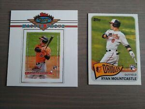 2020/2021 Ryan Mountcastle Prospect & Rookie Baseball Cards - 5 Cards