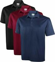 Men's Dry-Fit 3 Pack Casual Polo Shirt Short Sleeve NY Threads