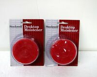Stockwell Desktop Moistener sponge and well 2 count Brand New