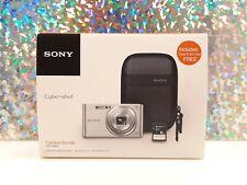 Sony Cyber-Shot DSC-W830 20.1MP Digital Camera - Silver 2.7