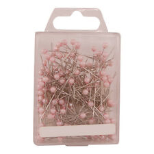 "Pearl head pins Pale Pink florists corsage buttonhole 1.5"" Box of 144"