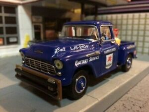 1956 Chevrolet Mobil Gasoline Service Truck 1:43 scale, Highly Detailed NIB