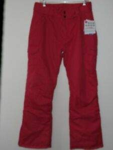 Arctix Women SZ L Snowsports Cargo Pants Rose Pink NWT Skiing Snowboard Snow