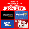 PDF GUIDE ▶️🔥Get Amazon | Walmart | Target | Best Buy Gift Card 5-20% OFF🔥