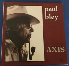 Paul Bley, AXIS-Solo Piano LP...IAI 37.38.53 ...1978