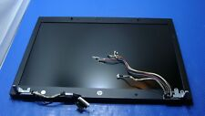"HP EliteBook 17"" 8740w Genuine Laptop Matte LCD Screen Complete Assembly #1 GLP*"