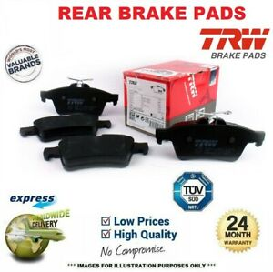 TRW REAR BRAKE PADS SET for MERCEDES BENZ S-Class 300 SE,SEL 1986-1991